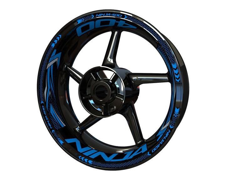 Rim Stickers Plus - Kawasaki Ninja 400