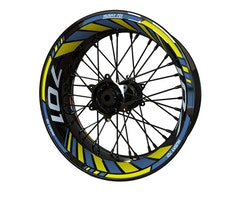 Husqvarna 701 Supermoto Wheel Stickers kit - Standard Design