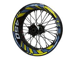 Husqvarna 450 Supermoto Wheel Stickers kit - Standard Design