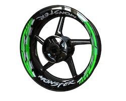 MONSTER Wheel Stickers kit - Premium Design