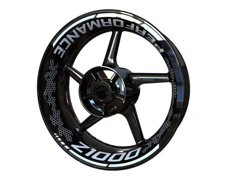 Rim Stickers Premium - Kawasaki Z1000