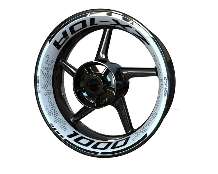 Kawasaki ZX-10R Wheel Graphics Premium (Front & Rear - Both Sides Included)