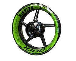 Kawasaki ZX-10R Wheel Stickers kit - Premium Design