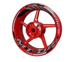 Yamaha MT-09 Wheel Stickers kit - Standard Design