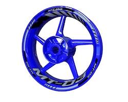 Yamaha MT-03 Wheel Stickers kit - Standard Design