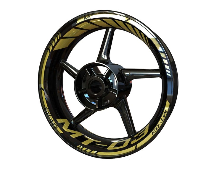 Yamaha MT-03 Wheel Stickers Standard (Front & Rear - Both Sides Included)