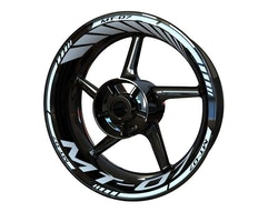 Yamaha MT-07 Wheel Stickers kit - Standard Design
