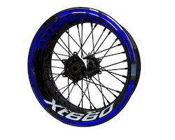 Yamaha XT660 Wheel Stickers kit - Standard Design