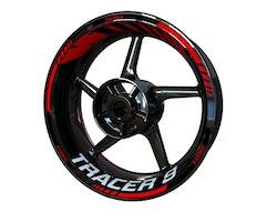 Yamaha Tracer 9 Wheel Stickers kit - Standard Design