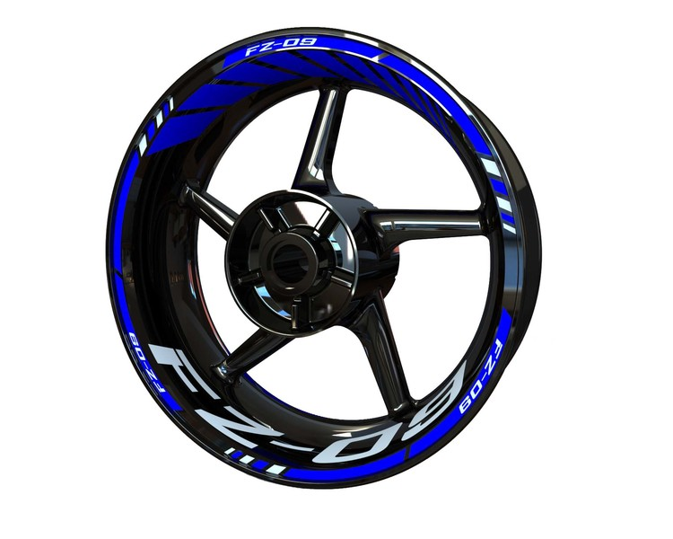 FZ-09 Wheel Stickers Standard