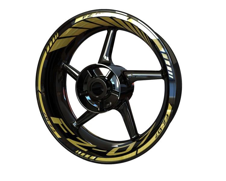Yamaha FZ-07 Wheel Stickers kit - Standard Design