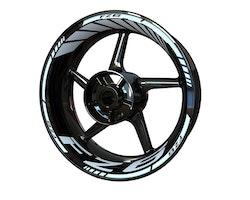 Yamaha FZ6 Wheel Stickers kit - Standard Design