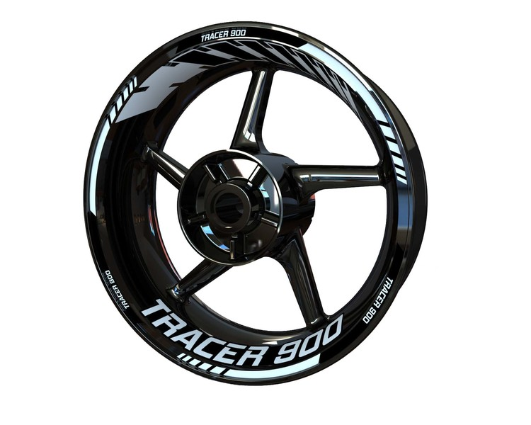 Yamaha Tracer 900 Wheel Stickers Standard (Front & Rear - Both Sides Included)