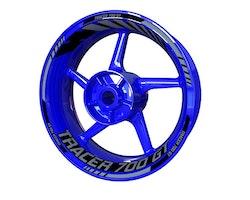 Yamaha Tracer 700 GT Wheel Stickers kit - Standard Design