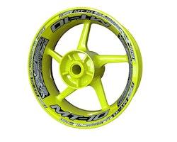 Yamaha MT-10 Wheel Stickers kit - Plus Design