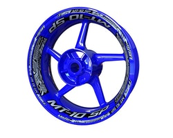 Yamaha MT-10 SP Wheel Stickers kit - Plus Design
