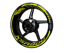 Yamaha XSR900 Wheel Stickers Standard (Front & Rear - Both Sides Included)