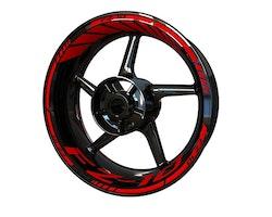 Yamaha FZ-10 Wheel Stickers kit - Standard Design
