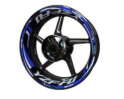 Yamaha YZF-R1 Wheel Stickers kit - Plus Design