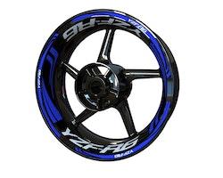 Yamaha YZF-R6 Wheel Stickers kit - Plus Design
