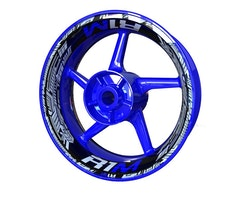 Yamaha R1M Wheel Stickers kit - Premium Design