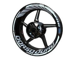 Aprilia Dorsoduro Wheel Stickers kit - Standard Design