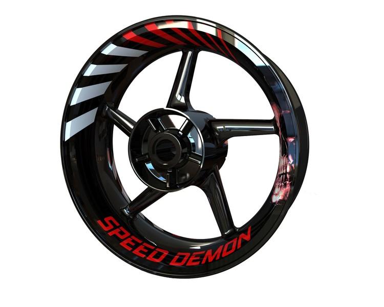 Speed Demon Wheel Stickers kit - Premium Design