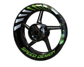 Speed Demon Wheel Graphics Premium (Front & Rear - Both Sides Included)