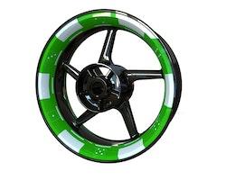 Poker Chip Wheel Stickers kit - Premium Design