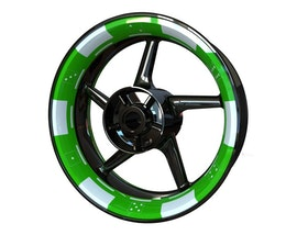 Poker Chip Wheel Graphics Premium (Front & Rear - Both Sides Included)