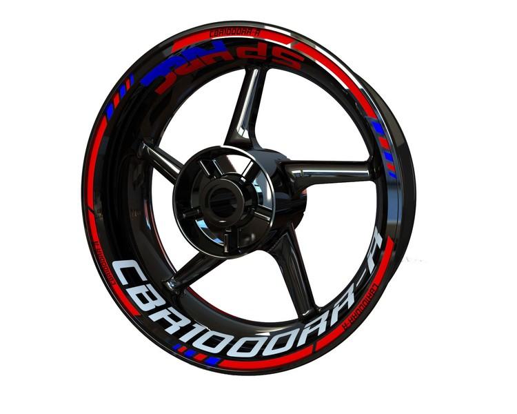 Honda CBR1000RR-R Wheel Stickers kit - Standard Design