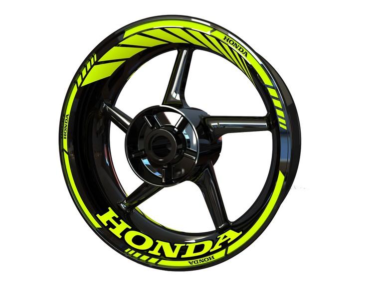 Honda Wheel Stickers kit - Standard Design