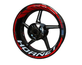 Honda Hornet Wheel Stickers Standard (Front & Rear - Both Sides Included)