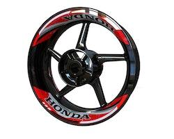 Honda Wheel Stickers kit - 2-Piece Design V2
