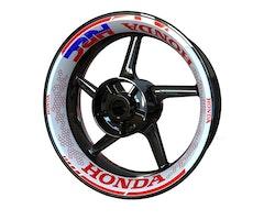 Honda Wheel Stickers kit - Premium Design