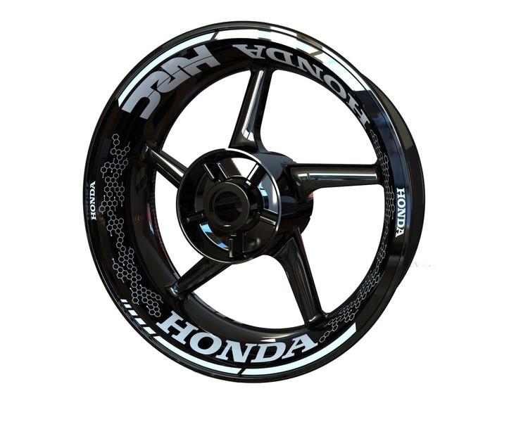 HONDA Wheel Graphics Premium V2 (Front & Rear - Both Sides Included)