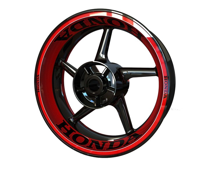 HONDA Wheel Graphics Premium (Front & Rear - Both Sides Included)