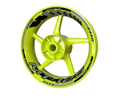Yamaha MT-125 Wheel Stickers kit - Standard Design