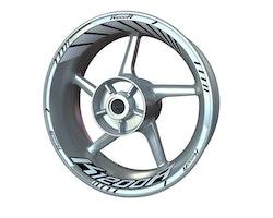 BMW K1200R Wheel Stickers kit - Standard Design