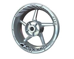 BMW K1200S Wheel Stickers kit - Standard Design