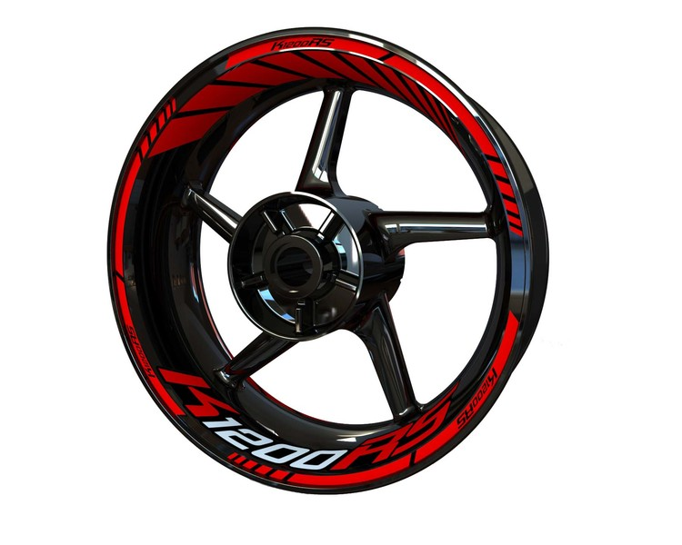 BMW K1200RS Wheel Stickers Standard (Front & Rear - Both Sides Included)