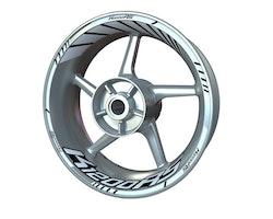 BMW K1200RS Wheel Stickers kit - Standard Design