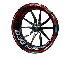 Ducati 939 Supersport Wheel Stickers kit - Plus Design