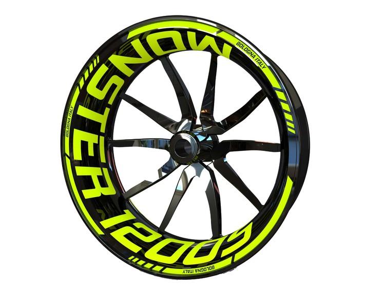 Ducati Monster 1200S Wheel Stickers kit - Standard Design