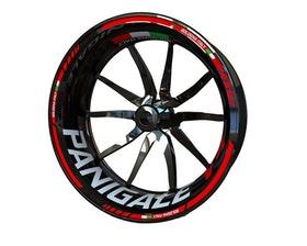 Ducati V4 Panigale Wheel Stickers Standard (Front & Rear - Both Sides Included)
