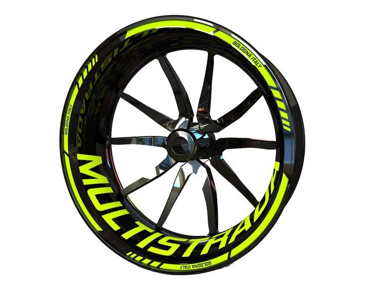Ducati Multistrada Wheel Stickers kit - Standard Design
