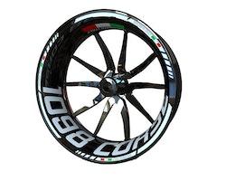 Ducati 1098 Corse Wheel Stickers kit - Standard Design