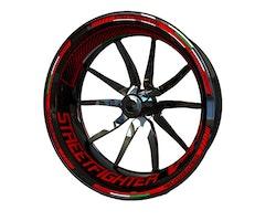 Ducati Streetfighter V4S Wheel Stickers kit - Plus Design
