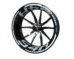 Ducati S4R Wheel Stickers kit - Standard Design