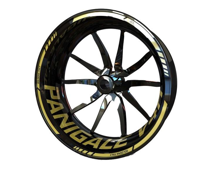 Ducati V4R Panigale Wheel Stickers kit - Standard Design
